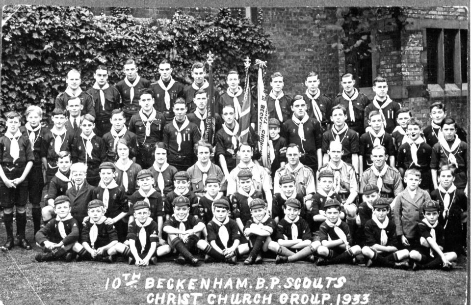 1933 10th Beckenham Scout Troop