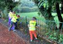 Litter Picking in Kelsey Park